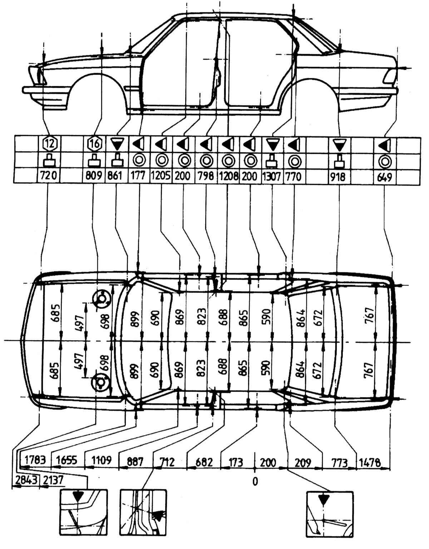 схема електропроводки bmw 524td